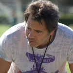 Tom Gores, Chairman and CEO of Platinum Equity, coaching youth soccer