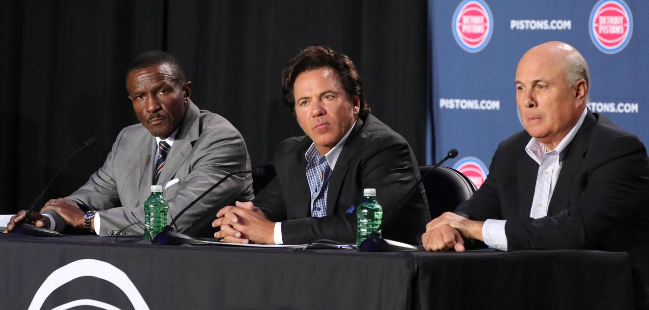 Detroit Pistons owner Tom Gores signals he's open to a new direction for franchise