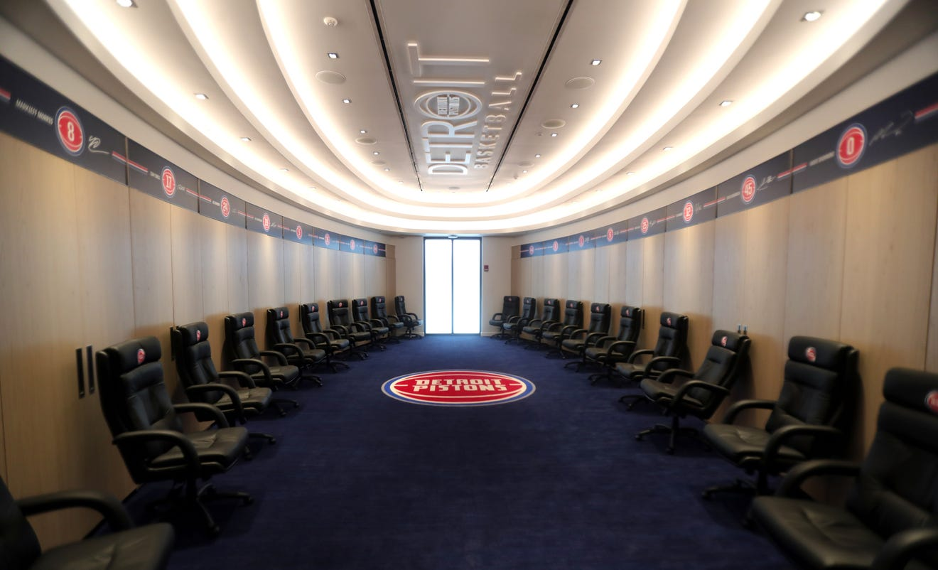 Detroit Pistons owner Tom Gores unveils $90 million performance center: 'One of the best'