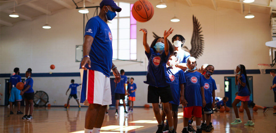 Why Detroit Pistons owner and Platinum Equity founder Tom Gores is sponsoring Detroit-area basketball camps